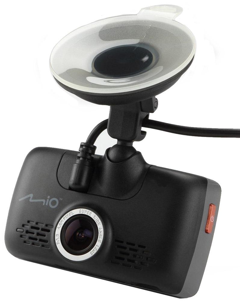 Mio MiVue 668, Black видеорегистратор5415N4840010Mio Mivue 668 записывает качественное видео в высоком разрешении 2304х1296 точек с охватом всех необходимых подробностей. Широкий угол обзора 150° позволяет получить полную картину всегда и везде. Ручная установка экспозиции видеорегистратора позволяет в сложных условиях освещённости, таких как снегопад или яркие солнечные лучи, регулировать яркость видео.Передовая оптическая система состоит из 6 высококачественных стеклянных линз и инфракрасного фильтра. Они пропускают больше света и создают более яркую и чёткую картинку.Поворотный механизм крепления позволяет развернуть устройство на 360° и записать все интересующие моменты, а удобная система фиксации кабеля в креплении позволит снять устройство без особых помех.Устройство оснащено двумя слотами под карты памяти, что позволит вам в случае необходимости скопировать файлы на дополнительную карту.Чтобы не отвлекать вас во время вождения, на дисплее будет указана текущая скорость движения и точное время. При приближении к камерам контроля скорости, на экране появится предупреждение об ограничении.Запатентованное умное оповещение SmartAlerts о камерах контроля скорости заранее предупреждает водителя. Дистанция до камеры выбирается автоматически в зависимости от вашей скорости. Пользователь самостоятельно может добавлять камеры контроля скорости на дороге.Контроль за соблюдением скорости позволяет настроить лимит допустимой скорости, при превышении которой, вы услышите звуковой сигнал.Больше никаких кнопок для управления видеорегистратором. Теперь, вы легко можете найти файлы для воспроизведения или сделать фотографию во время движения, всего лишь коснувшись экрана.Теперь фотографии можно делать в процессе режима видеосъёмки, всего лишь нажав на кнопку фотоаппарата на экране видеорегистратора.Благодаря встроенному аккумулятору и технологии определения движения, видеорегистратор автоматически начинает запись, когда что-то происходит в кадре. Даже если никого не будет в маш