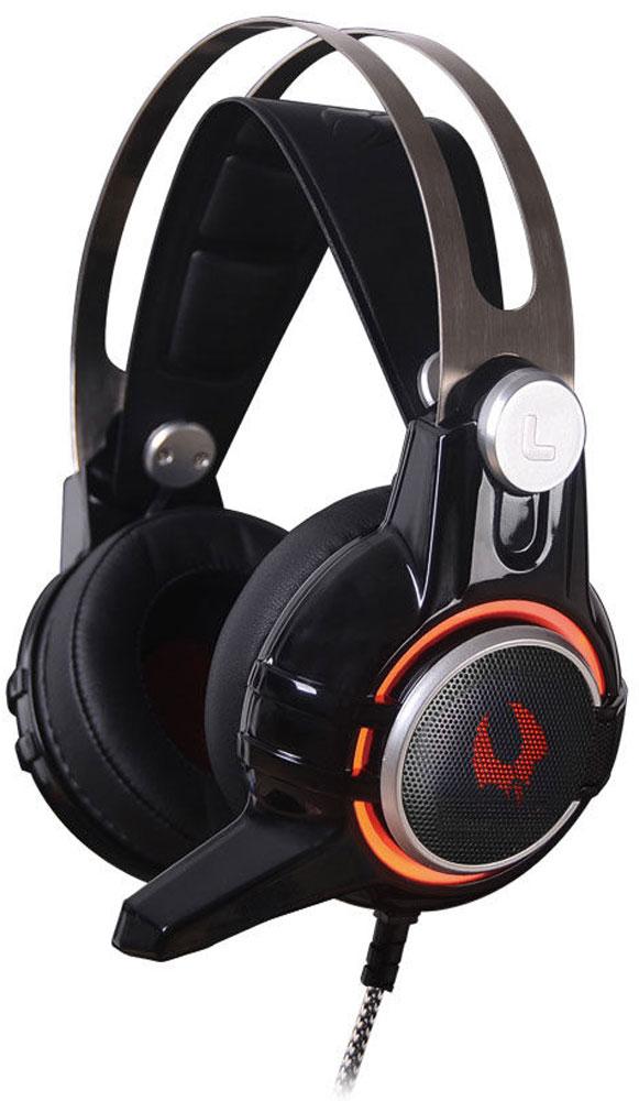 A4Tech Bloody M425, Black игровые наушникиM425Гарнитура A4Tech Bloody M425 изготовлена из высококачественных материалов, которые обеспечивают наибольший комфорт пользователю даже после длительного использования. Металлический коннектор гарантирует долговечность устройства. А благодаря элегантному дизайну даже самые требовательные игроки будут в восторге.Двухкамерная технология акустической обработки обеспечивает глубокий резонирующий бас и кристально четкие высокие и средние частоты (в диапазоне от 20 Гц до 20 КГц). Это создает реалистичное ощущение объемного звука и позволяет вам в полной мере насладиться игровым процессом.Инновационной технология M.O.C.I. (Mycelium of Carbon IT) - революционная двухъядерная полнодиапазонная мембрана диаметром 40 мм наушников изготовлена из наномицелия и углеродных волокон. Это первая в своем роде аудиогарнитура, которая позволяет услышать оригинальный звук без его искажения.Эргономичный дизайн обеспечивает максимальный комфорт, идеально подходит для долгих игровых сессий.Бескислородные медные нити изготовлены из эко-материала TPE. Кабель оптимизирован под любое окружение и выдерживает натяжение с силой 20 кг.Полностью регулируемый передовой микрофон обеспечивает кристально чистую голосовую связь во время игры, предоставляя вам максимальный контроль в игровой среде.Гарнитура специально разработана таким образом, чтобы предотвратить головную боль при длительном ношении. Двухъядерная полнодиапазонная мембрана создана из тончайшего материала, что позволяет вашим ушам дышать.