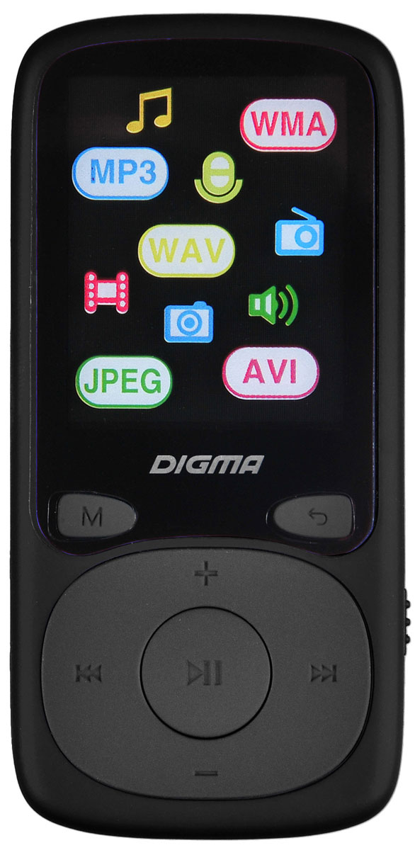Digma Cyber 3L 4Gb, Black Red MP3-плеер digma e629 black