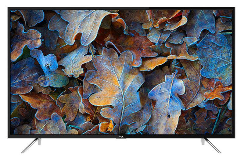 TCL LED49D2930US, Black телевизорLED49D2930USТелевизор TCL LED49D2930US успешно совмещает в себе все функции, присущие полноценному развлекательному медиацентру. Сочетание превосходного изображения и современных технологий предоставит вам возможность насладиться невероятно четким и ярким изображением. Сверхчеткое изображение нового телевизора TCL позволит в динамике рассмотреть ранее недоступные мельчайшие детали, наслаждаясь насыщенностью цветов и контрастностью! Стандарт видеоизображения позволяет просматривать фильмы и компьютерную графику в разрешении 4К - 3840 x 2160.Smart-телевизор TCL откроет для вас новый мир, объединяющий сотни и тысячи телеканалов, интернет-серфинг и вселенные онлайн-игр. Загружайте любимые фильмы, делитесь своими лучшими фотографиями и видеозаписями в социальных сетях, слушайте музыку и узнавайте интересующие вас новости с помощью удобных предустановленных приложений.Звук Dolby Digital сделает обладателя ТВ участником событий вместе с киногероями. Стереофонический, мощный, обогащенный басами звук никого не оставит равнодушным.Тюнер DVB-T2 позволяет без дополнительного оборудования смотреть телеканалы в цифровом качестве без помех.Стильный корпус легко впишется в любой интерьер, а специальная возможность крепления телевизора на стену позволит разместить устройство с максимальным удобством.