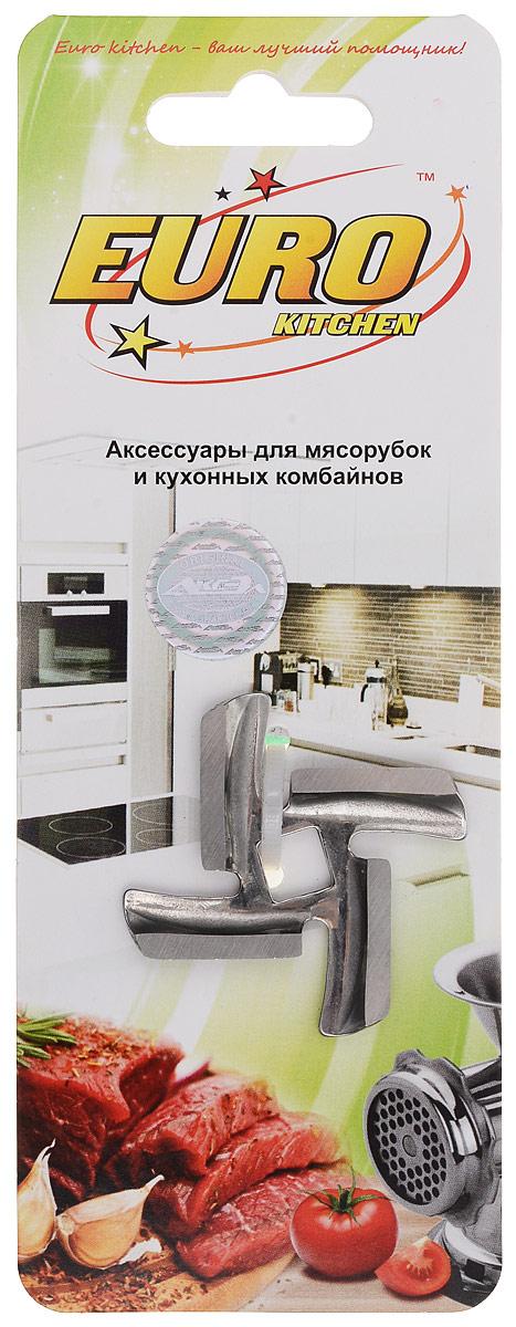 Euro Kitchen EUR-KNG Mystery нож для мясорубкиEUR-KNG MysteryНож Euro Kitchen EUR-KNG предназначен для работы с электрическими мясорубками марки Mystery. Он с легкостью заменит фирменную деталь, не уступив ей по качеству и сроку службы. Высокая производительность и долгий срок службы современных электрических и ручных мясорубок зависят, в первую очередь, от режущих механизмов и их выработки. Своевременная профилактика и замена режущих и вспомогательных элементов способствуют уменьшению нагрузки на узлы и другие механизмы, гарантируя долгую и качественную работу вашей мясорубки.