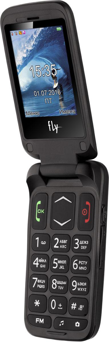 Fly Ezzy Trendy 3, Dark Grey мобильный телефон fly ff178 32mb black