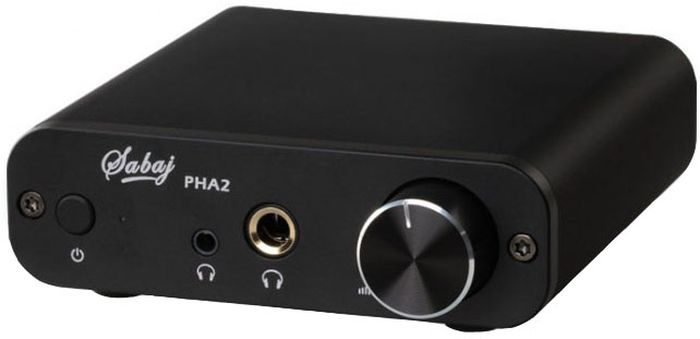 Sabaj PHA2, Black усилитель для наушников - Hi-Fi компоненты
