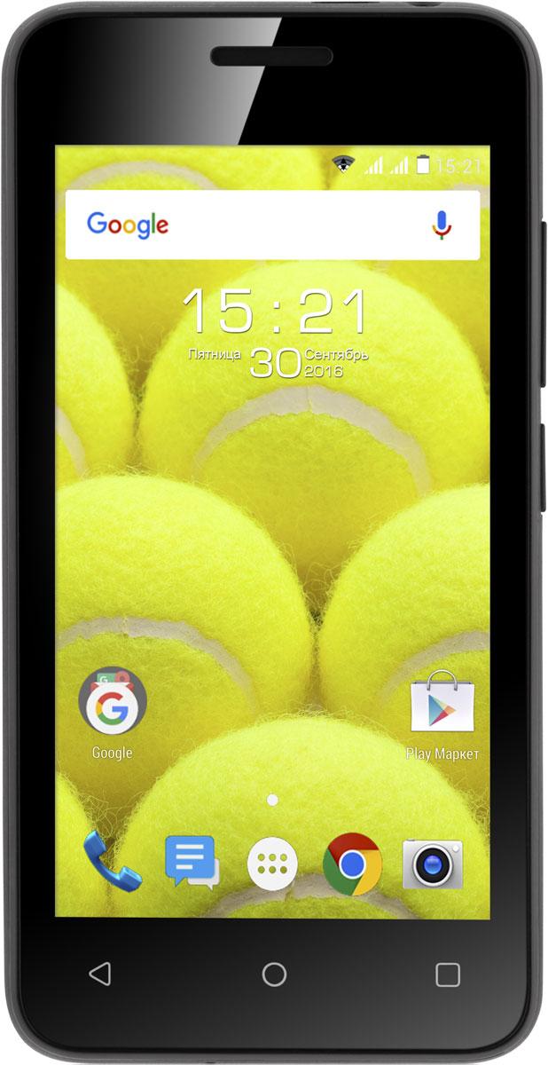Fly Stratus 6 FS407, Black9739Fly FS407 - компактный и эргономичный смартфон. Четырехдюймовый дисплей, позволяющий с удобством просматривать веб-страницы, играть и работать с приложениями, обеспечивает компактные размеры. Модель легко управляется одной рукой и с легкостью поместится в кармане рубашки или маленькой женской сумке.Операционная система Android Marshmallow гарантирует высокую производительность устройства: оптимизированная система оперативно обрабатывает данные, справляется с задачами без зависаний и обеспечивает общую энергоэффективность с низким расходом заряда аккумулятора.Fly FS407 дает максимум возможностей для комфортного общения. Две SIM-карты – это выгодный подбор тарифных планов, экономия расходов в роуминге и удобное разделение личных и деловых звонков.Смартфон станет надежным хранилищем для данных: 4 Гб встроенной памяти можно с легкостью расширить на 32 Гб с помощью карт microSDHC.Телефон сертифицирован EAC и имеет русифицированный интерфейс меню и Руководство пользователя.