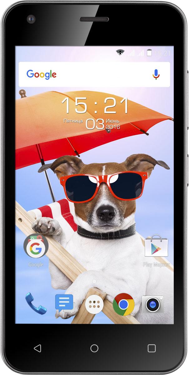 Fly Nimbus 8 FS454, Black9536Fly Nimbus 8 FS454 - смартфон, который создан для тех, кому важна легкость в управлении и современные технологии.Функция DOZE экономит заряд батареи для самых важных задач, автоматически включая спящий режим, когда вы не пользуетесь смартфоном.Функция APP STANDBY ограничивает расход батареи редко используемыми приложениями, благодаря чему Fly Nimbus 8 работает дольше.Операционная система Android обеспечивает слаженную работу смартфона, плавное переключение между окнами и бесперебойный сёрфинг в интернете.Подчеркните свой летний образ вместе с Fly Nimbus 8. Стильный корпус представлен в четырех цветах на любой вкус - черном, белом, зеленом и красном.С поддержкой скоростного 3G интернета вы сможете всегда быть на связи и иметь выход в Интернет, где бы вы ни находились, а работа двух активных SIM-карт расширит возможности мобильной связи и позволит сократить расходы.Компактный экран с диагональю 4.5 отличается быстрым откликом на прикосновения и низким уровнем потреблением энергии, а эргономичный корпус удобен для управления смартфоном одной рукой.Волшебство тёплых летних вечеров поможет запечатлеть 5-мегапиксельная камера с разрешением 2560 x 1920 пикселей, оснащённая мощной вспышкой и цифровым зумом.Телефон сертифицирован EAC и имеет русифицированный интерфейс меню и Руководство пользователя.