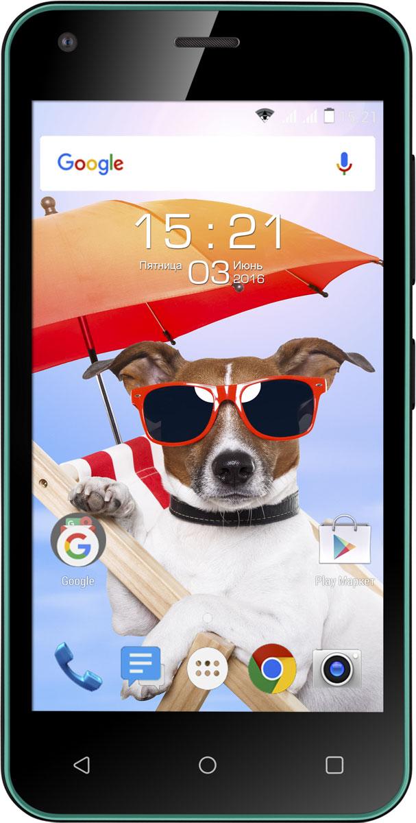 Fly Nimbus 8 FS454, Turquoise Green9563Fly Nimbus 8 FS454 - смартфон, который создан для тех, кому важна легкость в управлении и современные технологии.Функция DOZE экономит заряд батареи для самых важных задач, автоматически включая спящий режим, когда вы не пользуетесь смартфоном.Функция APP STANDBY ограничивает расход батареи редко используемыми приложениями, благодаря чему Fly Nimbus 8 работает дольше.Операционная система Android обеспечивает слаженную работу смартфона, плавное переключение между окнами и бесперебойный сёрфинг в интернете.Подчеркните свой летний образ вместе с Fly Nimbus 8. Стильный корпус представлен в четырех цветах на любой вкус - черном, белом, зеленом и красном.С поддержкой скоростного 3G интернета вы сможете всегда быть на связи и иметь выход в Интернет, где бы вы ни находились, а работа двух активных SIM-карт расширит возможности мобильной связи и позволит сократить расходы.Компактный экран с диагональю 4.5 отличается быстрым откликом на прикосновения и низким уровнем потреблением энергии, а эргономичный корпус удобен для управления смартфоном одной рукой.Волшебство тёплых летних вечеров поможет запечатлеть 5-мегапиксельная камера с разрешением 2560 x 1920 пикселей, оснащённая мощной вспышкой и цифровым зумом.Телефон сертифицирован EAC и имеет русифицированный интерфейс меню и Руководство пользователя.