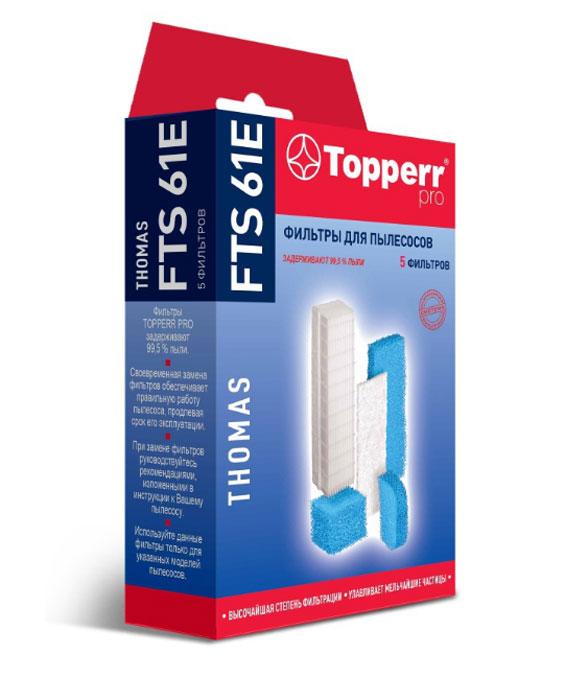 Topperr FTS 61E комплект фильтров для пылесосовThomas new and original mbs3000 060g1109 pressure switch 0 400bar 4 20ma g1 4a