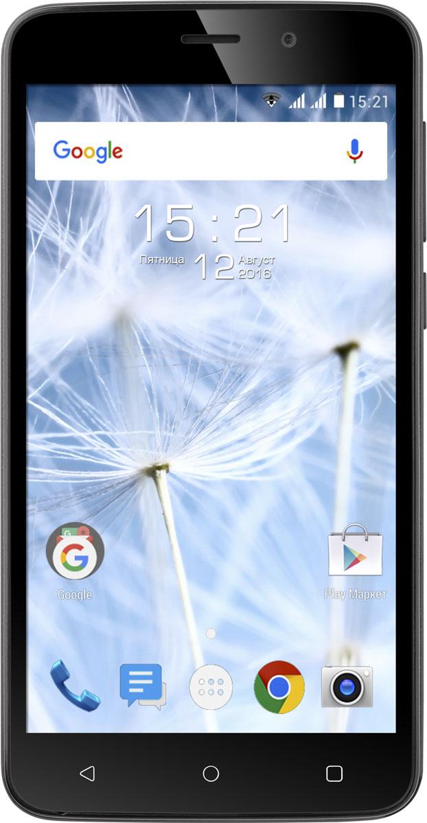 Fly Cirrus 6 FS508, Black9989Fly Cirrus 6 – это смартфон с поддержкой основных современных возможностей, универсальным и эргономичным дизайном, производительным 4-ядерным чипсетом и поддержкой работы двух SIM-карт.Эргономичный корпус со скошенными боковыми гранями комфортно помещается в руке и позволяет с легкостью пользоваться всеми элементами на дисплее.Создавайте отличные кадры вместе с 5 Мпикс камерой, оснащенной мощной светодиодной вспышкой. Красочные и чёткие фото и видео с разрешением Full HD оставят в памяти самые яркие моменты жизни, а для общения с друзьями и близкими по видео-связи предусмотрена фронтальная камера с разрешением 2 Мпикс.Четырехъядерный процессор MT6580A/W имеет тактовую частоту 1.3 ГГц. Разумное распределение мощностей и оптимизированная ОС Android 6.0 делают работу смартфона плавной и комфортной. Fly Cirrus 6 быстро обрабатывает пользовательские запросы и обеспечивает оперативный отклик на прикосновения и быструю работу интерфейса.Поддержка работа в 3G сетях даёт возможность мгновенно загружать веб-страницы, общаться в социальных сетях и непрерывно поддерживать связь с родными и близкими. В смартфоне традиционно присутствуют слот для двух SIM-карт. Кроме того, Fly Cirrus 6 оснащён модулем навигации A-GPS, который увеличивает точность определения местоположения, что поможет сориентировать в незнакомой местности.Насыщенные цвета, HD разрешение и широкие углы обзора IPS матрицы большого экрана с диагональю 5 делают работу с визуальным контентом, текстом и видео удобной и приятной.За хранение контента в Fly Cirrus 6 отвечает встроенная Flash-память объёмом 8 ГБ, которую при необходимости можно расширить картой памяти ёмкостью до 32 ГБ.Телефон сертифицирован EAC и имеет русифицированный интерфейс меню и Руководство пользователя.