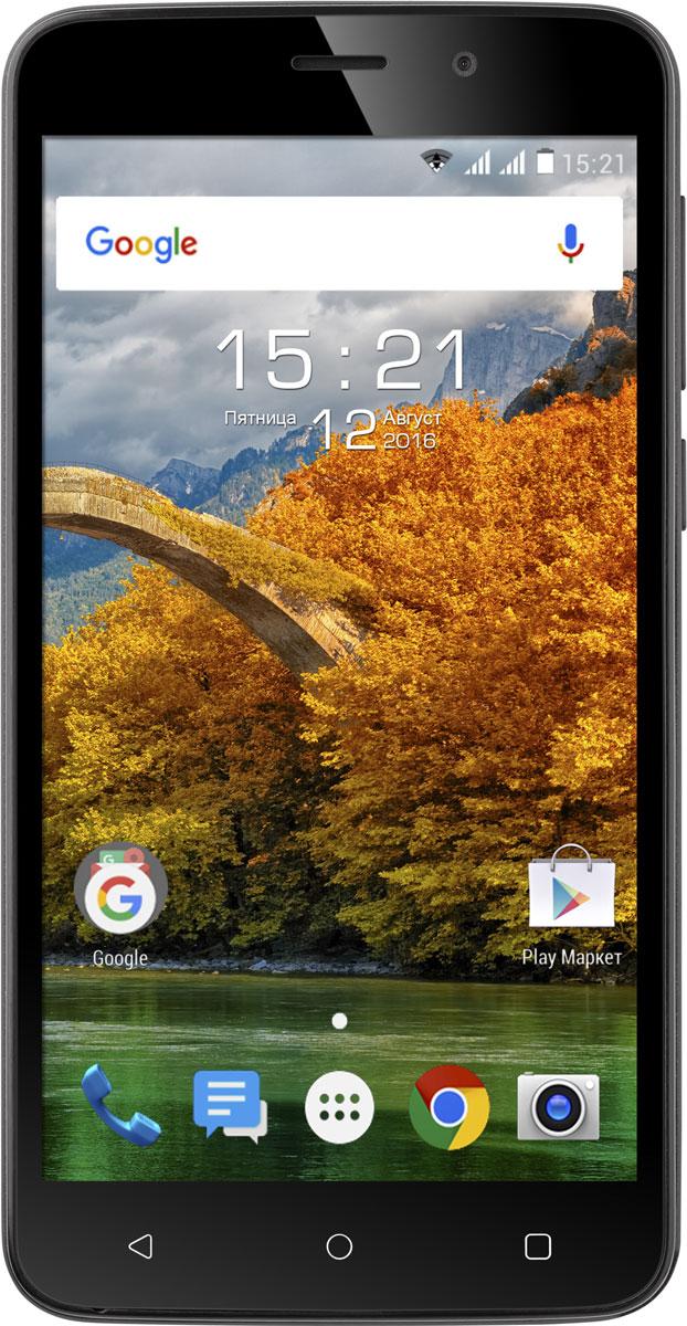 Fly Nimbus 9 FS509, Black9732Новейшая операционная система Android, производительная начинка, 1 ГБ оперативной памяти, 5 Мпикс камера соединились в новом представителе линейки Nimbus – Fly Nimbus 9.Эргономичный корпус и слегка шероховатая задняя панель привлекают внимание и делают смартфон удобным для управления одной рукой.Fly Nimbus 9 станет надежным помощником в решении повседневных задач. Четырёхъядерный процессор Spreadtrum SC7731С под управлением ОС Android Marshmallow отличается производительностью и низким энергопотреблением, обеспечивая эффективную и продолжительную работу.Производительный процессор под управлением самой современной ОС Android Marshmallow и наличием 1 ГБ оперативной памяти позволяют сделать работу смартфона слаженной, а также мгновенно обрабатывать поступающие запросы.Вместе с Fly Nimbus 9 легко запечатлеть яркий момент и мгновенно поделиться им со своими друзьями в социальных сетях. Пятимегапиксельная камера оснащена вспышкой и цифровым зумом, благодаря чему снимки будут четкими и яркими.Традиционная поддержка работы двух SIM-карт позволит подобрать выгодные тарифные планы на мобильную связь. С поддержкой скоростного 3G интернета вы сможете всегда быть на связи и иметь выход в интернет, где бы вы ни находились. А модуль A-GPS увеличит точность и надежность определения местоположения.Телефон сертифицирован EAC и имеет русифицированный интерфейс меню и Руководство пользователя.