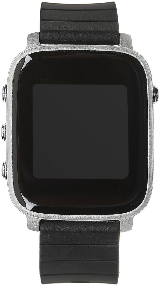 SMA Time смарт-часы, Silver BlackSMA-Q2-SL/BLKSMA Time - спортивные и стильные часы от SMA, обладающие хорошим 1.28-дюймовым дисплеем и простым пользовательским интерфейсом. Часы обладают как смарт-функциями, так и возможностями отслеживания вашего физического состояния. Они на протяжении всего дня автоматически считают количество пройденных шагов, сожженных калорий, показания пульса и оценивают качество и длительность сна. Идеальное сочетание умных часов с фитнес-трекером.Корпус изготовлен из высококлассного алюминиевого сплава, который придает часам одновременно легкость и высокую прочность. Диагональ дисплея составляет 1,28 дюйма, разрешение 176x176 пикселей.Для управления часами используются четыре функциональные клавиши на корпусе — одна на левой части корпуса и три на правой части. Ремешок выполнен из силикона и доступен в нескольких цветах: черном, красном и синем.Bluetooth 4.0 позволяет синхронизировать часы со смартфонами на базе Android и iOSMemory LCD дисплей, который читается при любых условиях и почти не тратит зарядФитнес-функции: подсчет количества шагов и сожженных калорийОценка длительности и качества сна с вибробудильникомВстроенный датчик ЧСС для отслеживания показаний пульсаРежим для бега с определением зон пульсаНапоминания о неактивности: часы попросят походить, если вы засиделисьСмарт-функции: отображение уведомлений и напоминанийРазнообразные циферблатыДо 40 дней в режиме ожидания, до 20 дней активного использованияЗащита от пыли и влаги по стандарту 3ATM