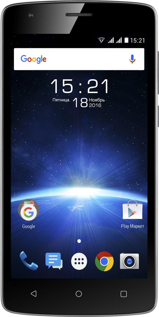 Fly Nimbus 12 FS510, Black9855Смартфон Fly Nimbus 12 FS510 с XLife аккумулятором станет идеальным спутником для тех, кто предпочитает всегда находиться в центре событий. Батарея ёмкостью 4000 мАч и мощный 4-ядерный процессор позволяют ему эффективно выполнять поставленные задачи.Позвольте себе забыть о необходимости регулярно подзаряжать смартфон. Энергоёмкий аккумулятор объёмом 4 000 мАч сможет обеспечить длительную и бесперебойную работу Fly Nimbus 12 даже при больших нагрузках.Производительный 4-ядерный процессор с тактовой частотой 1.3 ГГц работает на базе ОС Android 6.0, обеспечивая плавную работу интерфейса, быстрый отклик на прикосновения и эффективную работу в многозадачном режиме.На большом 5 IPS HD дисплее, заключённом в лаконичный корпус, удобно просматривать и редактировать фото и видео, смотреть сериалы и искать информацию в интернете. Задняя поверхность корпуса имеет рифлёную матовую текстуру, что обеспечивает надежное и удобное расположение смартфона в ладони.Nimbus 12 у вас под рукой всегда будет 5 Мпикс камера с быстрым автофокусом, которая позволит делать фотографии с разрешением 2560 x 1920 pix и снимать видео в FullHD разрешении. Также смартфон оснащён фронтальной камерой 2 Мпикс.Традиционно для Fly смартфон поддерживает работу двух SIM-карт, что делает работу ещё более плодотворной и удобной. Сочетайте лучшие тарифы для ваших задач.Телефон сертифицирован EAC и имеет русифицированный интерфейс меню и Руководство пользователя.