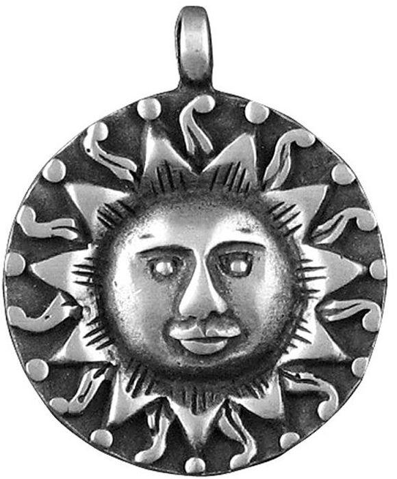 Амулет-тотем Гифтман №21 Солнце, материал: олово. Авторская работа. 7112139890|Колье (короткие одноярусные бусы)Амулет, талисман. Можно использовать в виде подвески либо в виде брелока.Улучшает настроение, даёт здоровье и вечную молодость, защищает от дурного ока и порчи.В большинстве культур солнце является основным символом созидательной энергии. Как источник тепла, солнце олицетворяет жизненную силу, а также алхимическое золото и вечную молодость. Талисман насыщает энергией, способствует накоплению несметных богатств и приобретению власти.