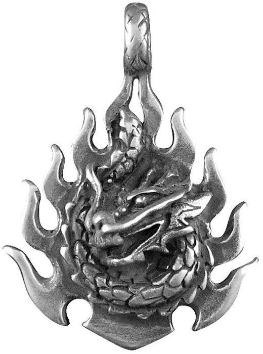 Амулет-тотем Гифтман №43 Огненный дракон, материал: олово. Авторская работа. 71143Колье (короткие одноярусные бусы)Амулет, талисман. Можно использовать в виде подвески либо в виде брелока.Развивает гибкость и напор, даёт огромную силу, мудрость и магические знания. На Востоке Огненный дракон представляет духовную мощь, божественную силу, высшую власть и мужской элемент Ян. По своему желанию он может быть видим или невидим. В древних китайских учениях дракон -покровитель боевых искусств, поэтому он является символом легендарного Шаолиня.
