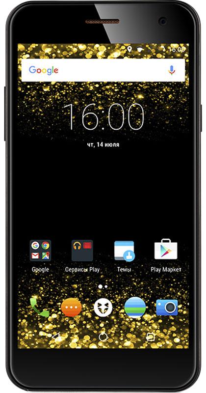 Wileyfox Spark, Black9605Wileyfox Spark мощное сочетание стильного образа и продвинутых возможностей, которое сделает ярче каждый день!Теплый слегка шероховатый Sand Stone имитирует поверхность натурального камня, а нежное покрытие смартфона в белом цвете Silk Touch создает впечатление прикосновения к шелку или к нежной коже.Эргономичный тонкий корпус Wileyfox Spark обладает продуманным соотношением сторон и небольшим весом, благодаря чему пользоваться смартфоном легко и удобно.Выделит Wileyfox Spark из толпы одинаковых смартфонов – объемный логотип в форме мордочки лисы, выполненный из анодированного цинка, уже стал отличительной чертой Wileyfox. Стилизованная под металл окантовка по всему периметру корпуса и тончайшее лазерное обрамление камеры, также делают Wileyfox Spark яркой индивидуальностью. Изогнутый 2.5D дисплей делает внешний вид смартфона эстетически законченным.Экран смартфона – это ваше персональное окно в мир! Позвольте себе погрузиться в визуальный контент и насладиться им в полной мере с изогнутым 2.5D дисплеем Wileyfox Spark. В основе 5 экрана с HD разрешением лежит IPS-матрица, которая характеризуется широкими углами обзора до 178°. Не важно, в каком положении вы держите смартфон, например, играя в игры или просматривая фото и видео контент, вам гарантированы высокое качество изображения и отличные характеристики передачи цвета.Для защиты дисплея от повреждений и царапин в Wileyfox Spark используется сверхпрочное стекло Dragontrail от японского производителя AGCИзготовление окантовки смартфона и из сплава алюминия позволило сделать устройство легким и очень прочным. Металлический каркас делает смартфон устойчивым к повреждениям и деформациям и не позволяет ему гнуться.Wileyfox Spark — первый в мире смартфон с поддержкой ОС Cyanogen, работающий на базе чипсета MediaTek. Использования технологий MediaTek позволило создать идеальную производительную базу для самого современного программного обеспечения, сохранив доступную стоимость смартфона.ОС Cyano