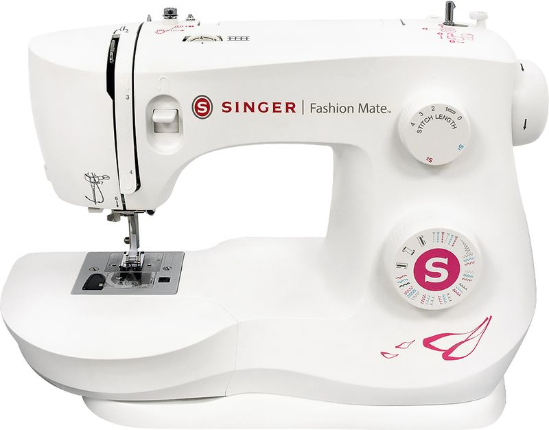 Singer Fashion Mate 3333 швейная машинаFashion MATE 3333Швейная машина SINGER Fashion MATE 3333 Электромеханическая 24 операций, петля-полуавтомат, горизонтальный челнок