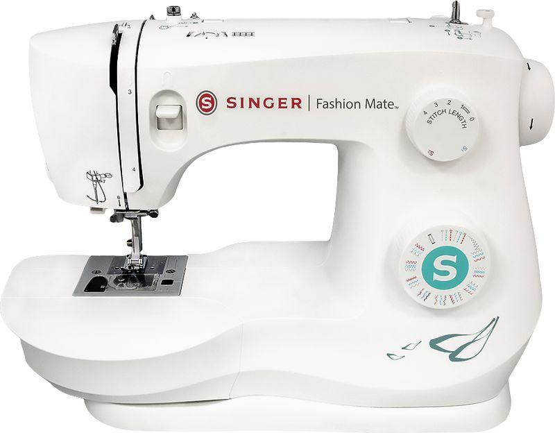 Singer Fashion Mate 3337 швейная машинаFashion MATE 3337Швейная машина SINGER Fashion MATE 3337 Электромеханическая 30 операций, петля-автомат, горизонтальный челнок
