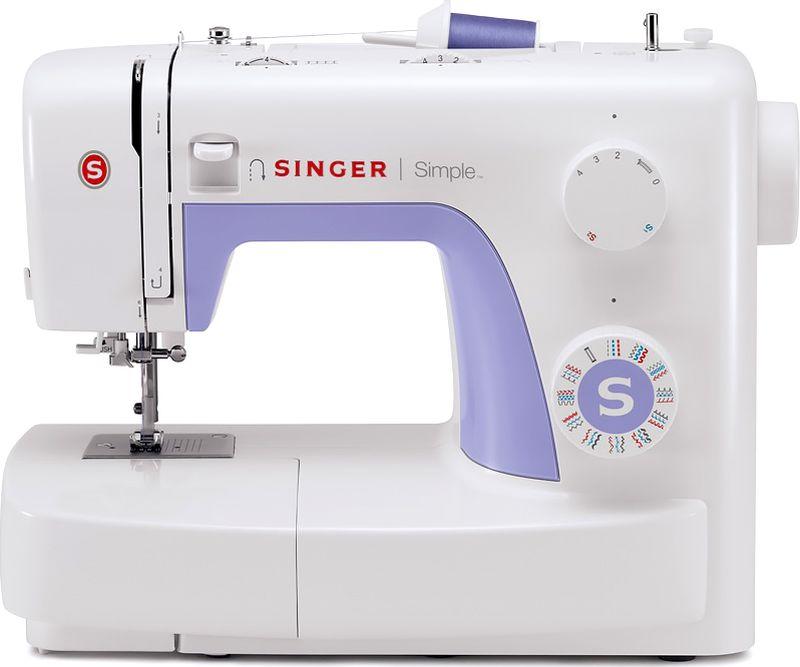 Singer Simple 3232 швейная машинаSIMPLE 3232Швейная машина Singer SIMPLE 3232 Электромеханическая 32 операция, петля-автомат, вертикальный челнок
