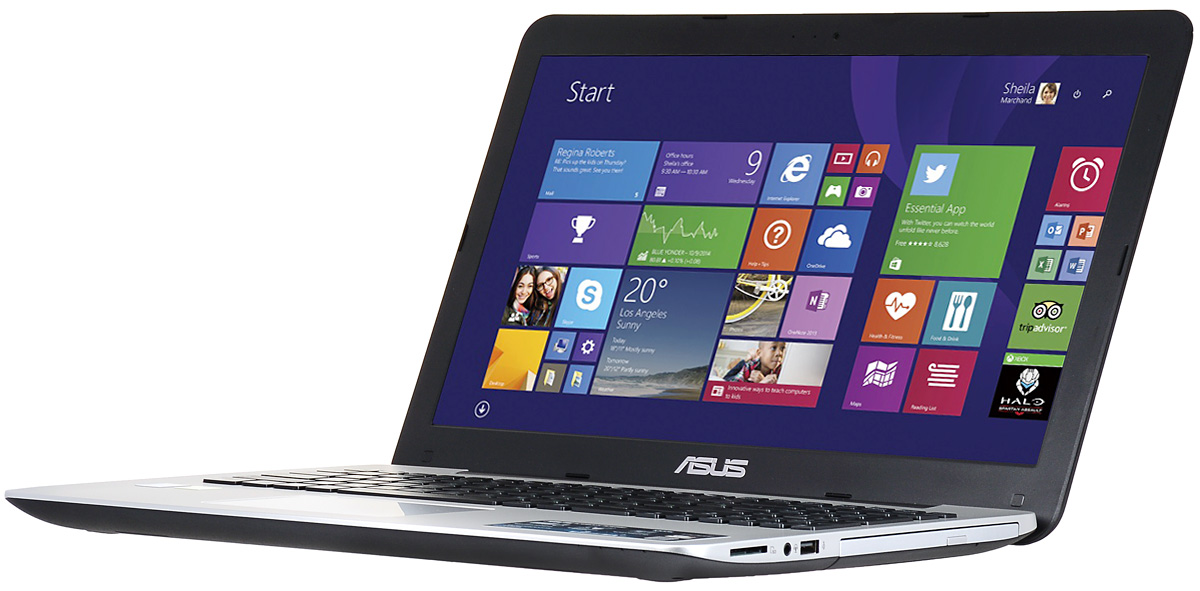 ASUS K555LD (K555LD-XO328H)K555LD-XO328HМощный ноутбук с оптическим приводом ASUS K555LD.Точная цветопередача с технологией Asus Splendid:Эксклюзивная технология Splendid позволяет быстро настраивать параметры дисплея в соответствии с текущими задачами и условиями, чтобы получить максимально качественное изображение. Всего доступно четыре режима настройки, поэтому пользователь легко может выбрать тот, который оптимально подходит для каждого типа приложений.Мощный, живой звук и технология SonicMaster:Благодаря эксклюзивной аудиотехнологии SonicMaster, встроенная аудиосистема ASUS K555LD может похвастать мощным басом, широким динамическим диапазоном, точным позиционированием звуков в пространстве, высокой мощностью и великолепной четкостью. Помимо аппаратных достоинств (большие динамики и резонаторы), она обладает программными: ее звучание можно гибко настроить в зависимости от предпочтений пользователя и окружающей обстановки.Настройте свой звук:Для настройки звучания служит функция Audio Wizard, предлагающая выбрать один из пяти вариантов работы аудиосистемы, каждый из которых идеально подходит для определенного типа приложений (музыка, фильмы, игры и т.д.).Технология Smart Gesture:Тачпад, которым оснащаются модели серии ASUS K555LD, обладает большой сенсорной панелью и поддерживает множество различных жестов, реализованных в Windows 8.1: прикосновение, скроллинг, масштабирование, перетаскивание и т.д. За их корректное и быстрое распознавание отвечает специальная технология Asus Smart Gesture.Функция Instant On:Эксклюзивная система управления энергопотреблением Super Hybrid Engine II, реализованная в ноутбуках Asus, позволяет выходить из спящего режима всего за пару секунд, причем в режиме сна ноутбук может пробыть до двух недель без подзарядки. Если же уровень заряда батареи опустится ниже 5%, произойдет автоматическое сохранение всех открытых файлов, чтобы избежать потери данных!Точные характеристики зависят от модификации.Ноутбук сертифицирован EAC и имеет русифи