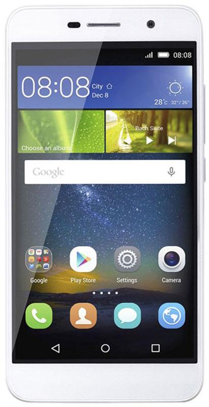 Huawei Honor 4C Pro, White51090EQRHuawei Honor 4C Pro - это новаторский дизайн и современные технологии.Задняя панель с зеркальным эффектом создаёт текстуру, изменяющуюся в зависимости от того, как падает свет. Также имеется специальная обработка, внешне и тактильно создающая эффект металлического корпуса.Технология энергосбережения Huawei 3.0 сохраняет 30 % заряда аккумулятора. Смартфон может работать до 20 часов при заряде всего 10 %. Он также отслеживает приложения, потребляющие энергию в фоновом режиме, и предлагает способы оптимизации работы аккумулятора.Оставайтесь на связи при любых обстоятельствах. Поделитесь зарядом смартфона с другом: просто используйте Honor 4C Pro как внешний аккумулятор.Покрытие, защищающее камеру от отпечатков пальцев, позволяет заснять яркие моменты вашей жизни. Обновлённый BSI сенсор OV, диафрагма f/2.0 и широкий угол обзора 78° описывают возможности камеры лучше, чем количество пикселей.Диафрагма f/2.2 поможет создать светлую и контрастную картинку. Угол обзора камеры 84° – идеальный баланс между фоном и объектом съёмки: чем шире угол, тем больше друзей вместится на автопортрете.Работа в сетях 4G, 3G, 2G и CDMA – не теряйте связь с близкими благодаря широкому спектру поддерживаемых частот. Оба разъёма для SIM-карт поддерживают 4G и CDMA. Пользователь может выбрать одну сим-карту для передачи данных в 4G-3G сетях и вторую для передачи в сети 2G.Разрешение 1280 x 720 пикселей, 16 миллионов цветов и 296 пикселей на дюйм создают уникальное качество изображения. Усовершенствованные цвета особенно заметны при просмотре фильмов и видеороликов.Встроенная система шумоподавления: чистый звук во время разговоров даже в самом людном месте.Телефон сертифицирован EAC и имеет русифицированный интерфейс меню и Руководство пользователя.