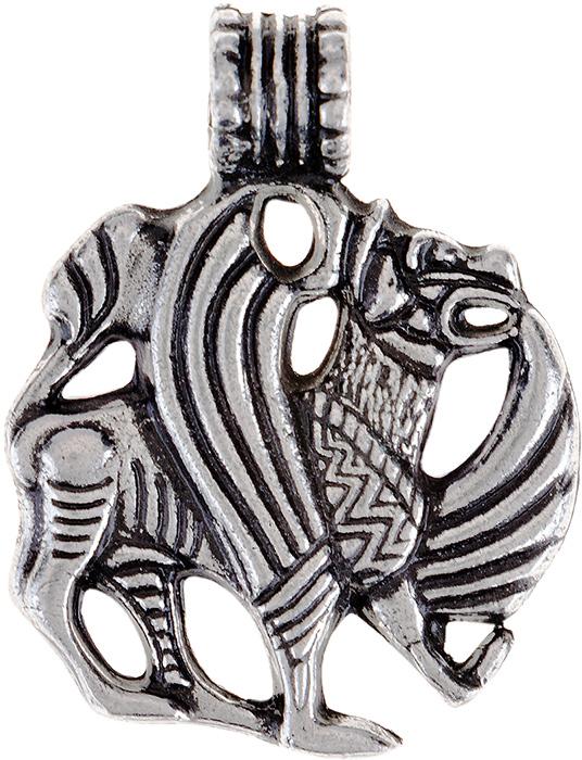 Амулет защитный Гифтман №22 Семаргл-Огнебог, материал: олово. Авторская работа. 71722Брошь-кулонАмулет, талисман. Можно использовать в виде подвески либо в виде брелока.Защищает жизнь и благополучие, умножает силы, приносит победу и славу.