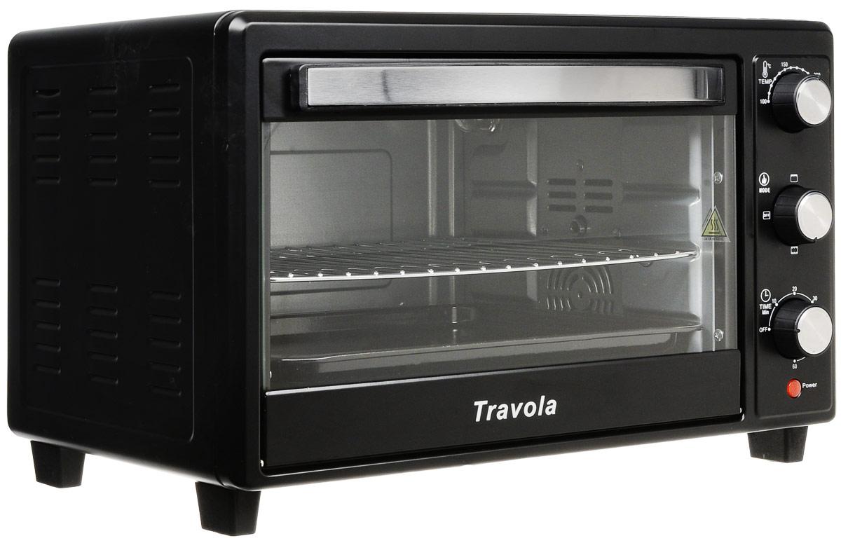 Travola KYS-C30 мини-печьKYS-C30Мини-печь Travola KYS-C30 станет незаменимым помощником на кухне и поможет приготовить множество разнообразных блюд. Несмотря на свой компактный размер, модель обладает высокой мощностью - 1600 Вт.Для управления мини-печью используются удобные механические переключатели. Создатели предусмотрели таймер отключения, рассчитанный на 60 минут, с его помощью можно устанавливать время приготовления блюда.Световой индикатор покажет владельцу, что прибор включен и готов к использованию. Также предусмотрен звуковой сигнал, сообщающий о том, что сработал таймер отключения.