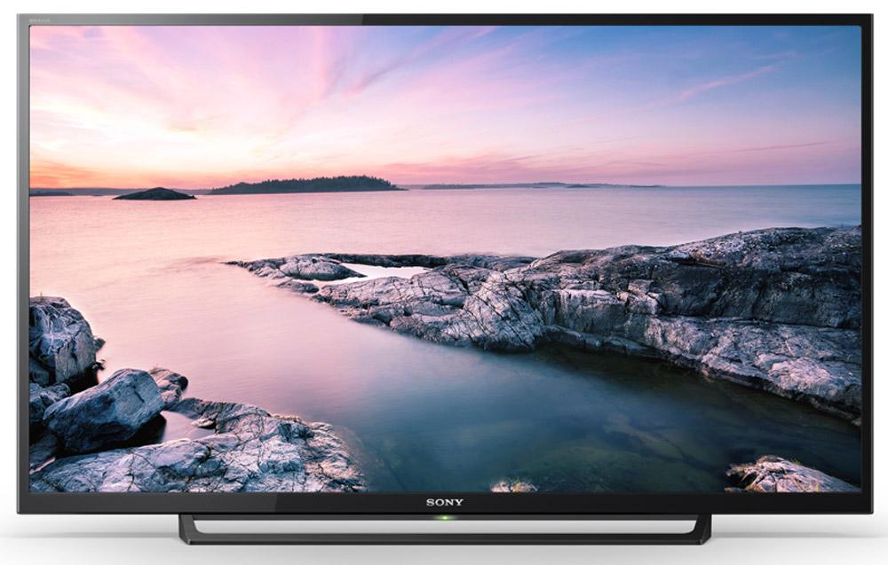 Sony KDL-40RE353, Black телевизорKDL40RE353BRSony KDL-40RE353 - телевизор Full HD, с поддержкой Clear Resolution Enhancer, X-Protection PRO, USB Multi Play и аудиотехнологией Clear Phase.Оцените мельчайшие детали и естественность текстур любого изображения, даже если на первый взгляд оно вам кажется невыразительным и однотонным. Перейдите от шумных изображений к тончайшим нюансам. Технология Clear Resolution Enhancer повышает разрешение изображений низкого качества до разрешения Full HD, уровень искажения изображения при этом не увеличивается. Это достигается за счет сокращения уровня искажения перед масштабированием изображения до разрешения экрана телевизора. В результате вы получаете четкое изображение с повышенным контрастом, глубиной и большим количеством деталей.Насладитесь детализацией, контрастностью и качеством текстур в разрешении Full HD 1080p. Изображение в Full HD имеет разрешение 1920 x 1080 пикселей, что в пять раз больше стандартного. Такое видео выглядит четче, детализированнее и реалистичнее, содержит меньше шумов и лучше воспринимается зрителем. Технология X-Protection PRO защищает ваш телевизор четырьмя способами. Во-первых, на нем нет вентиляционных отверстий, что предотвращает попадание пыли внутрь. Во-вторых, первичный конденсатор защищает телевизор от неожиданных перепадов напряжения в сети. В-третьих, влагозащищенное покрытие платы поможет предотвратить короткое замыкание при повышенной влажности. И наконец, защита от скачка напряжений в электросети до 9000 вольт во время грозы.Оцените плавность и высокую степень детализации даже в самых динамичных сценах с быстрой сменой планов благодаря Motionflow XR. Эта инновационная технология создает и добавляет дополнительные кадры между исходными кадрами видео. Специальный алгоритм сопоставляет ключевые составляющие изображения в последовательных кадрах и вычисляет недостающие фазы движения в имеющейся последовательности. Кроме того, некоторые модели поддерживают функцию вставки черного кадра, что по