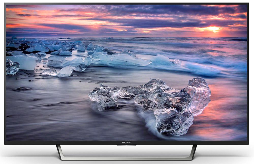 Sony KDL-43WE755, Black телевизорKDL43WE755BRSony KDL-43WE755 - телевизор Full HD с X-Reality PRO, кнопкой YouTube, TRILUMINOS Display и X-Protection PRO.Больше цветов — больше реализма. Дисплей TRILUMINOS со специально разработанной системой подсветки выполняет выборочное сопоставление и преобразование цветов изображения в соответствии с более широкой цветовой гаммой. Таким образом удается избежать избыточно насыщенных и неестественных цветов. Богатство и реалистичность оттенков подарят яркость эмоций в каждой сцене.Включить YouTube стало проще. Наслаждайтесь вашим любимым контентом. На пульте дистанционного управления этого телевизора имеется отдельная кнопка для выхода на YouTube, чтобы вы могли быстрее находить и просматривать любимые видео.Расширенный динамический диапазон (HDR) позволяет сохранить детали в темных и светлых участках изображения, придавая ему динамику. Обратите внимание на текстуру металла на крыле самолета и отражения солнечного света на фюзеляже.Процессор X-Reality PRO улучшает разрешение каждого пикселя, добиваясь невероятной четкости. Каждая сцена проходит покадровый анализ, а изображения сопоставляются с базой данных. В результате удается добиться невероятной реалистичности деталей, что бы вы ни смотрели.Реалистичность звука наравне с реалистичностью изображения. Технология ClearAudio+ позволяет оптимизировать звук телевизора для еще более полного погружения в происходящее на экране. Наслаждайтесь музыкой, диалогами и звуковыми эффектами в еще лучшем качестве, что бы вы ни смотрели.Оцените плавность и высокую степень детализации даже в самых динамичных сценах с быстрой сменой планов благодаря Motionflow XR. Эта инновационная технология создает и добавляет дополнительные кадры между исходными кадрами видео. Специальный алгоритм сопоставляет ключевые составляющие изображения в последовательных кадрах и вычисляет недостающие фазы движения в имеющейся последовательности. Кроме того, некоторые модели поддерживают функцию вставки черного кадра, ч