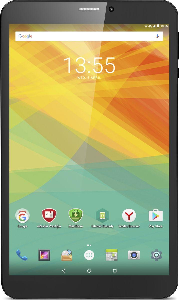 Prestigio Wize 3418 4G 16GB, BlackPMT3418_4G_D_CISPrestigio Wize 3418 4G - стильный планшет с привлекательным корпусом, производительным аппаратным обеспечением и поддержкой 4G. Это планшет - взвешенное решение для тех, кто привык к качественным функциональным девайсам и скоростному Интернету.Подключение к 4G откроет для вас новый уровень скорости мобильного Интернета. С Wize 3418 4G можно скачать фильм или загрузить большой объём данных всего за несколько минут.Благодаря технологии IPS, разрешению 800x1280 и четырехъядерному графическому адаптеру Quad Core Mali T720 экран передаёт цвета с высокой точностью. Чёткость изображения делает работу комфортной, а мир развлечений буквально оживает у вас на ладони.Аппаратное обеспечение Wize 3418 4G эффективно справляется с многозадачным режимом. Мощный 64-битный четырёхъядерный процессор и 1 ГБ оперативной памяти позволяют работать с несколькими офисными приложениями одновременно, общаться в соцсетях и просматривать видео в формате HD.Планшет оснащен 16 ГБ внутренней памяти: у вас будет достаточно места для ваших приложений, фотографий и музыки. Этот объём можно расширить на 32 ГБ с помощью карты microSD.Кто сказал, что планшет не может быть инструментом создания фото- и видеоконтента? Основная камера со вспышкой позволит делать снимки на ходу, а фронтальную камеру можно использовать для видеозвонков из любого места, где вы будете в течение дня.Производительность планшета улучшает обновленный Android 6.0 Marshmallow, который также позволяет Wize 3418 4G работать дольше с режимом экономии энергии Doze. Наслаждайтесь разнообразием возможностей настройки приложений.Планшет сертифицирован EAC и имеет русифицированный интерфейс меню и Руководство пользователя.