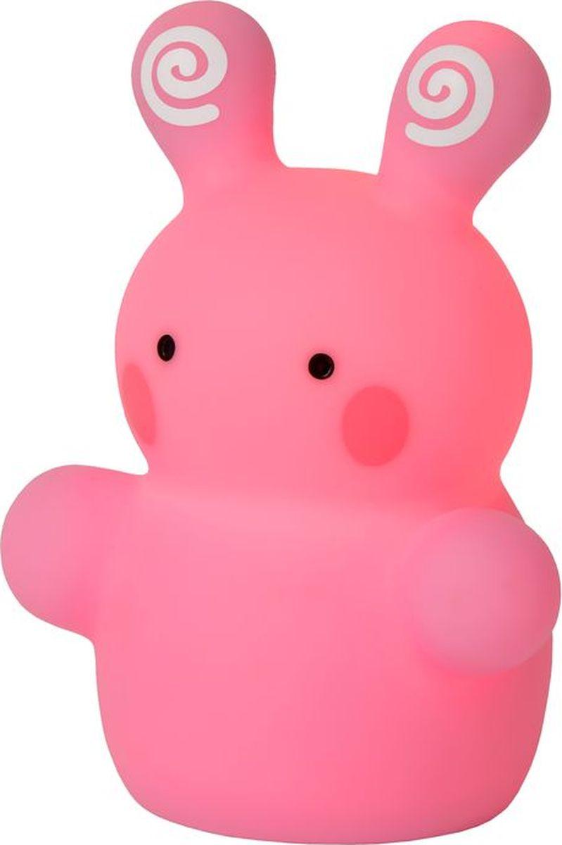 Лампа настольная Lucide Rabbit, цвет: розовый, LED, 1 Вт. 71553/21/6671553/21/66