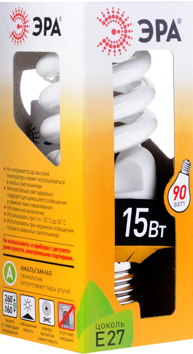 ЭРА F-SP-15-827-E27 мягкий светC0036915Комплект лампочек ЭРА F-SP-15-827-E27 экономит до 80% электроэнергии. Адаптивная система зажиганияобеспечивает мгновенное включение и плавный разогрев лампы за 1 мин. Затраты на комунальные платежисущественно сокращаются. Повышеннаяя светоотдача. Используется качественный люминофор.Технология superbright. Энергосберегающие лампы PREMIUM по своим габаритам не больше обычной лампы накаливания. Это позволит с легкостью заменить все лампочки в доме на энергосберегающие.