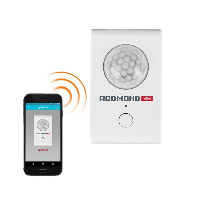 Redmond SkyGuard D31S, White датчик движенияRG-D31SУмный датчик движения SkyGuard RG-D31S. – компактный беспроводной гаджет, с помощью которого можно контролировать любые движения в доме или в другом помещении из любой точки мира*. SkyGuard. мгновенно отправит уведомление на ваш смартфон о любом несанкционированном движении в зоне его действия.Smart датчик легко монтируется, поэтому для его установки не требуется специального оборудования и знаний. Максимальная дальность действия RG-D31S. доходит до 8 метров, а угол наблюдения составляет 180°.Всю информацию о незапланированных передвижениях в помещении smart датчик передает в приложение Ready for Sky Guard. Где бы вы ни находились, RG-D31S проинформирует о зафиксированных движениях. В течение рабочего дня или во время отпуска можно со смартфона проверять обстановку в доме.Смарт датчик можно встроить в уже существующую систему умного дома REDMOND.. В приложении Ready for Sky Guard можно создать совместные сценарии работы RG-D31S. и других smart устройств REDMOND. Например, после срабатывания датчика сигнал поступает на умный цоколь, который мгновенно включит свет в помещении, чтобы испугать злоумышленника.RG-D31S работает в стандартном режиме при температуре от -10°С до +40°С.