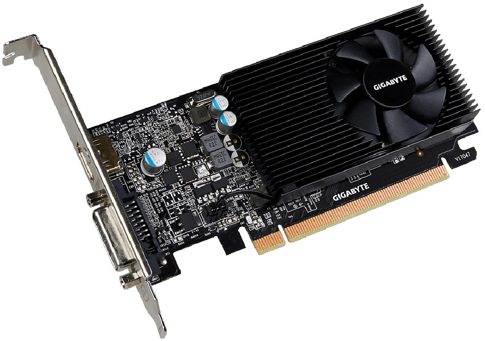 Gigabyte GeForce GT 1030 Low Profile 2GB видеокарта