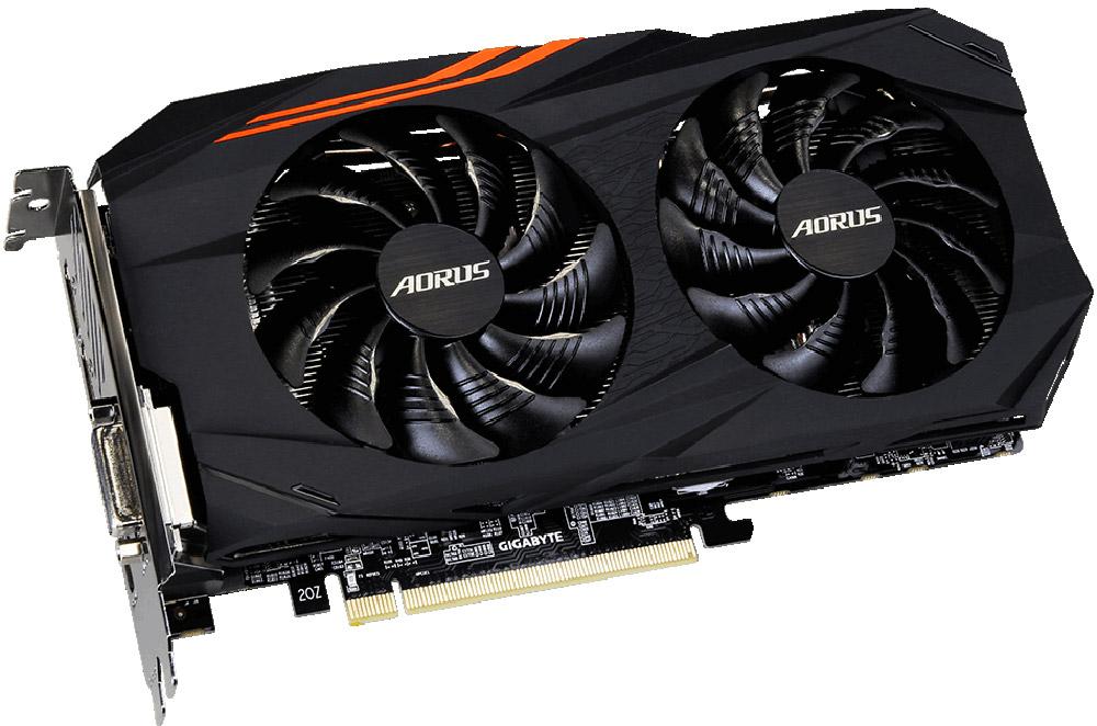 Gigabyte AORUS Radeon RX570 4GB видеокарта