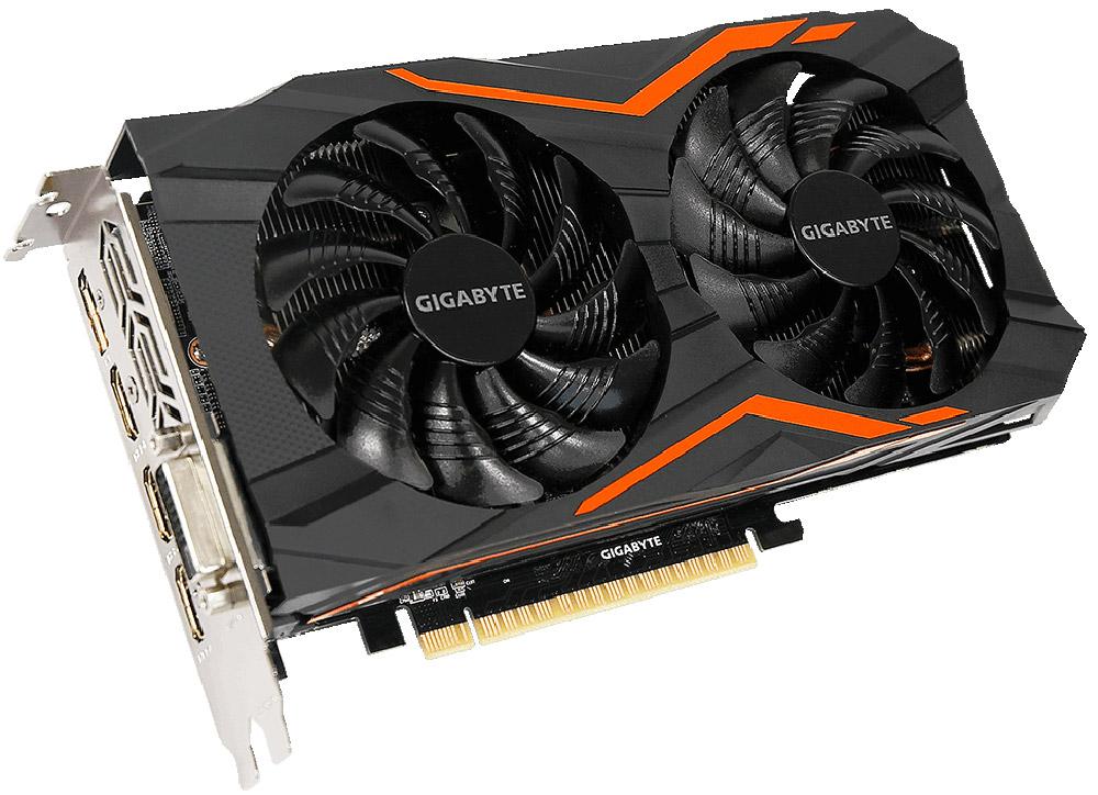 Gigabyte GeForce GTX 1050 Ti G1 Gaming 4GB видеокартаGV-N105TG1 GAMING-4GDВидеокарта Gigabyte PCI-E GV-N105TG1 GAMING-4GD NV GTX1050TI 4096Mb 128b GDDR5 1366/7008 DVIx1/HDMIx
