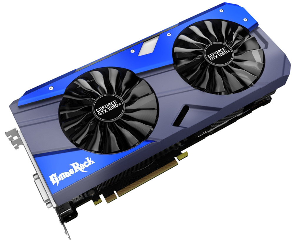 Palit GeForce GTX 1080 Ti GameRock 11G 11GB видеокарта