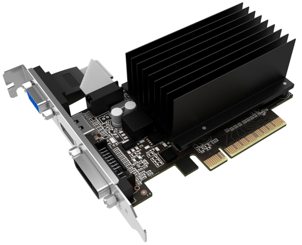 Palit GeForce GT 710 1GB видекарта (OEM)NEAT7100HD06-2080H BULK