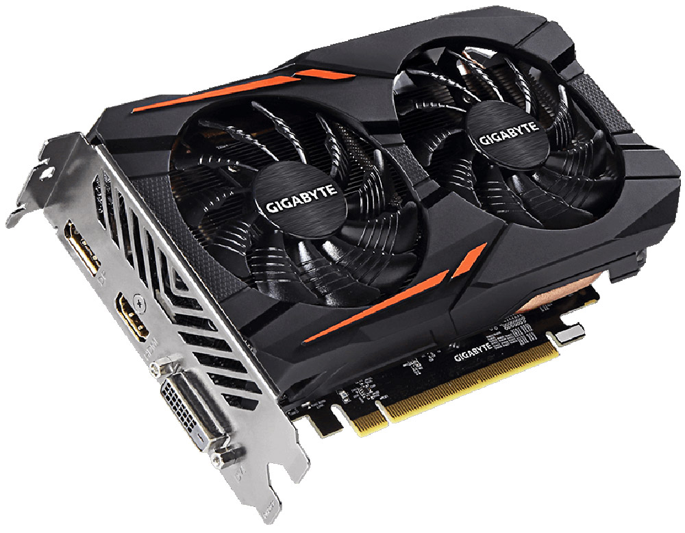Gigabyte Radeon RX 560 Gaming OC 2GB видеокартаGV-RX560GAMING OC-2GD