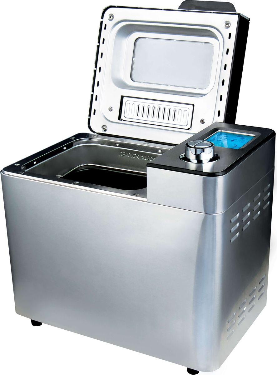 Gemlux GL-BM-789 хлебопечкаGL-BM-789Хлебопечка Gemlux GL-BM-78912 программ, вес буханки 500/750/900 г, 3 варианта цвета корочки, подогрев 60 мин, отложенный старт до 13 ч, нержавеющая сталь, в комплекте мерный стакан, мерная ложка, лопасть для замеса, дозатор орехов