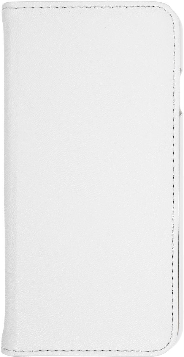 Gear4 BookCase чехол для iPhone 6/6s, WhiteIC6039Gear4 BookCase - полезный аксессуар, который надежно защищает ваш Apple iPhone 6/6s от внешних воздействий, грязи, пыли, брызг. Также Gear4 BookCase поможет при ударах и падениях, смягчая удары, не позволяя образовываться на корпусе царапинам и потертостям. Кроме того, он будет незаменим при длительной транспортировке устройства.