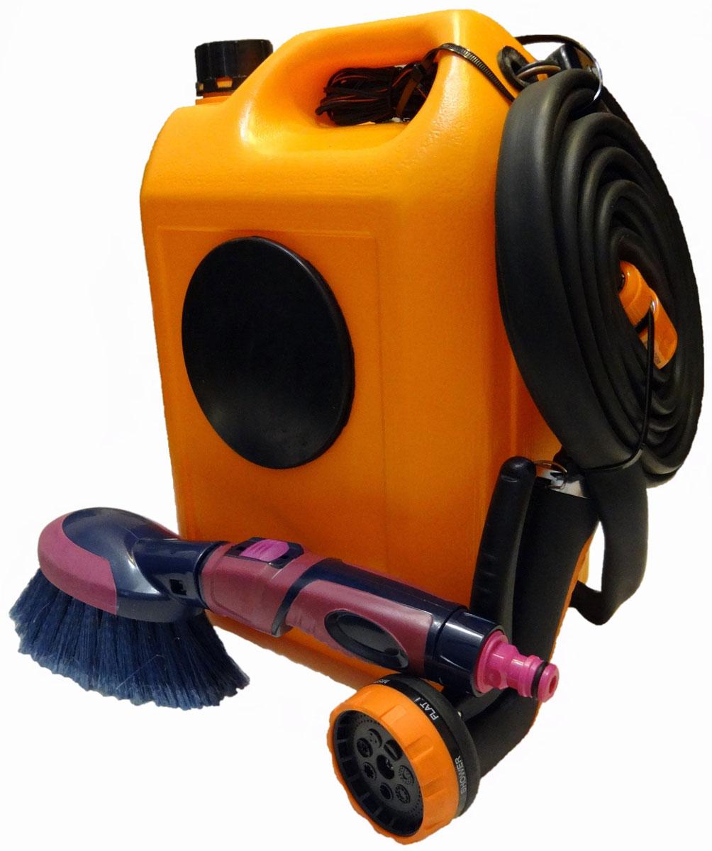 Минимойка Балио Лонгер-10-форте. М310М310Минимойки, работающие от прикуривателя - быстрый, надежный, аккуратный и экономный способ вымыть автомобиль, его двигатель и различные узлы, спрятанные под капотом. Автомобиль можно мыть и в зимний период. Погружной насос немецкого производства. Срок службы: 5-7 лет. Режим работы - продолжительный. Насадки - мягкая щетка с регулятором расхода воды и душ-пистолет с семью типами струи.