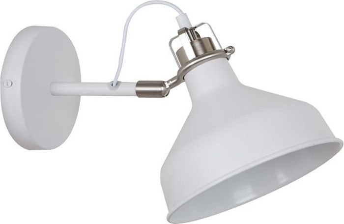 Спот Odeon Light Lurdi White, 1 х E27, 40W. 3331/1W3331/1W