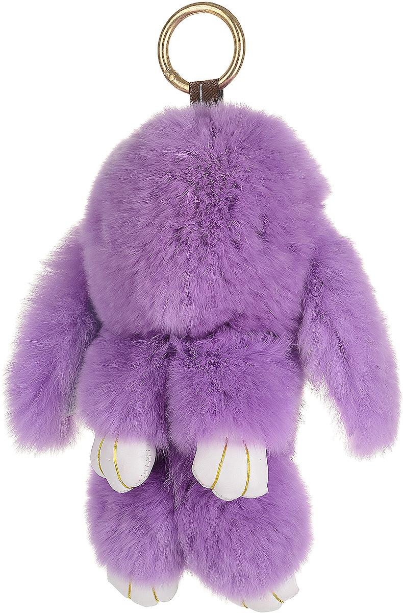 Брелок женский Good Mood, цвет: сиреневый. 668Брелок для сумкиНеобычайно мягкий , пушистый Кролик- брелок станет прекрасным подарком на любой праздник или событие. Против его очарования нет равнодушных! Помимо отличительных тактильных ощущений и высокого качества, кролик-брелок является стильным аксессуаром, которым можно украшать сумки, мобильные телефоны, джтнсы, ключи, салоны машин и рабочие интерьеры