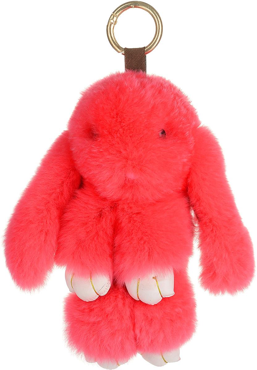 Брелок женский Good Mood, цвет: розовый. 5521744790Необычайно мягкий , пушистый Кролик- брелок станет прекрасным подарком на любой праздник или событие. Против его очарования нет равнодушных! Помимо отличительных тактильных ощущений и высокого качества, кролик-брелок является стильным аксессуаром, которым можно украшать сумки, мобильные телефоны, джтнсы, ключи, салоны машин и рабочие интерьеры