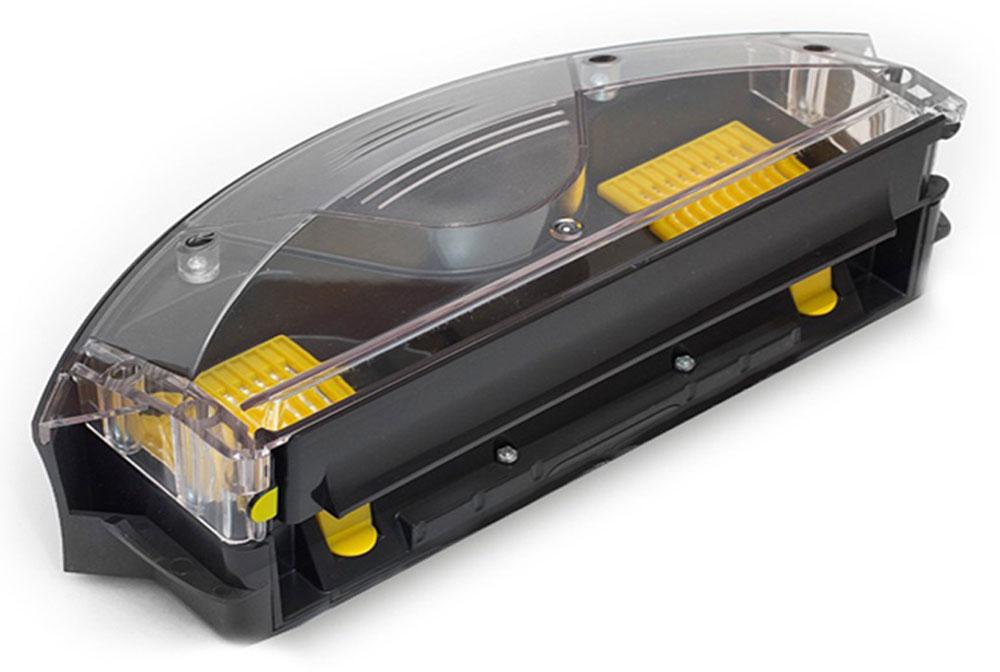 iRobot пылесборник AeroVac для Roomba 700 серии69591300Пылесборник iRobot AeroVac для роботов-пылесосов Roomba 700 серии. Мощный вакуумный насос засасывает мусор и волосы непосредственно со щеток и отправляет его в дальнюю часть контейнера.