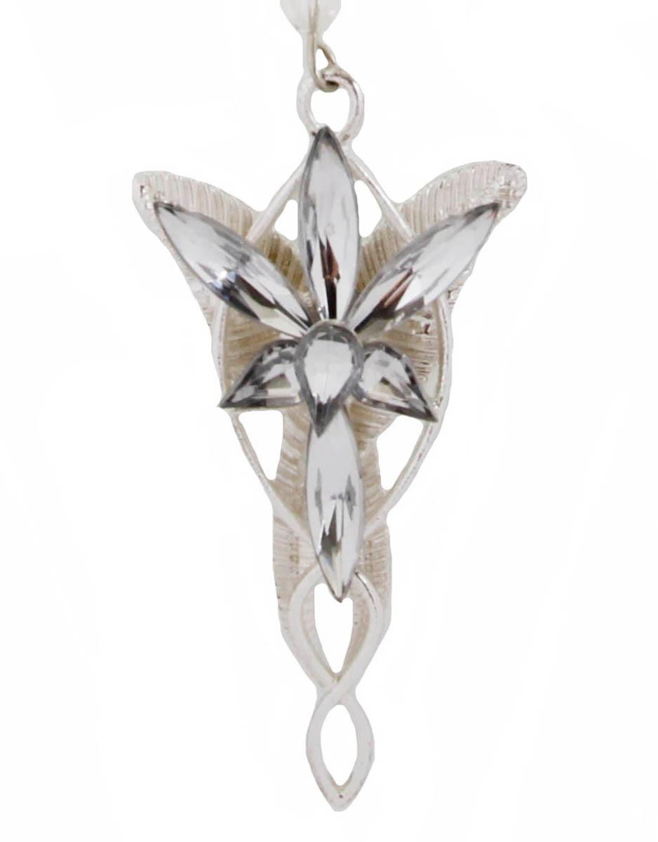 Подвеска Звезда тысячелетия. Бижутерный сплав, австрийские кристаллыОжерелье (короткие многоярусные бусы)Подвеска Звезда тысячелетия. Бижутерный сплав, австрийские кристаллы. Размер 5 х 3 см. Длина цепочки 42 см.