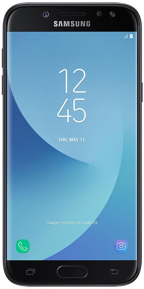 Samsung SM-J530F Galaxy J5 (2017), BlackSM-J530FZKNSERРазработанный с самым пристальным вниманием к деталям, смартфон Samsung Galaxy J5 получил полностью металлический корпус с нулевым выступом камеры, благодаря чему смартфон удобно держать одной рукой, а также стекло с эффектом 2.5D на 5,2-дюймовом HD-дисплее, обеспечивая ему дополнительную защиту.Основная камера с разрешением 13 Мпикс и апертурой F/1.7 позволяет делать четкие фотографии с улучшенной детализацией даже при слабом освещении, а ее интуитивно понятный интерфейс позволяет делать снимки одной рукой благодаря возможности перемещения кнопки спуска затвора на экране.Samsung Galaxy J5 позволяет делать яркие и четки селфи с более точной детализацией даже в условиях недостаточной освещенности благодаря фронтальной LED-вспышке. Вы также можете управлять спуском затвора простым жестом руки.Samsung Galaxy J5 имеет 2 ГБ оперативной памяти и 16 встроенной памяти, которую можно расширить до 256 ГБ с помощью карты microSD. Благодаря этим характеристикам Galaxy J5 отличается отличным быстродействием и высокой скоростью реагирования, что позволяет ускорить выполнение повседневных задач.Samsung Cloud позволяет создавать резервные копии, синхронизировать, восстанавливать и обновлять данные с помощью смартфона Galaxy, чтобы вы могли получать доступ ко всему, что вам нужно, когда и где вам это нужно.Функция Secure Folder от Samsung - это мощное решение для обеспечения безопасности, которое позволяет создать личное и полностью зашифрованное пространство для хранения различного контента, такого как фотографии, документы и аудиофайлы с дополнительным уровнем защиты, доступ к которому будете иметь только вы.Настройте свой мессенджер под себя. Samsung Galaxy J5 позволяет настраивать две учетные записи для одного мессенджера с различными целями. Пользователи могут настраивать и легко управлять второй учетной записью мессенджера одновременно из главного экрана и меню настроек.Мобильные платежи теперь можно совершать еще более эфф