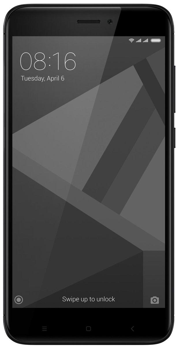 Xiaomi Redmi 4X (16GB), BlackREDMI4X16GBBLXiaomi Redmi 4X собрал в себе все самые важные качества отличного смартфона. Аккумулятор ёмкостью 4100 мАч способен работать до 18 дней в режиме ожидания и до 2 дней при интенсивном использовании.Новый Redmi 4X помещен в красивый металлический корпус, сделанный из анодированного алюминия. Две яркие линии на задней поверхности телефона, образованные благодаря процессу алмазной резки, придают телефону дополнительный блеск.Данная модель удобно лежит в ладони, даже во время долгих игровых сессий или просмотра фильмов. Поставляется с изогнутым стеклом 2.5 D, которое ощущается на удивление гладким, когда вы касаетесь его или проводите пальцем по экрану.Батарея, подпитываемая 8-ядерным процессор Snapdragon 435, который имеет более высокую производительность, а также потребляет меньше энергии по сравнению со своим предшественником. Теперь вы можете играть в любимые игры в течение всего дня, без каких-либо задержек.Часто приходится спешить и на ввод пароля просто нет времени? Дайте пальцам самим сделать это. Redmi 4X содержит сенсор отпечатка пальцев, который предоставляет быстрый доступ к личному профилю и файлам.Почувствуйте разницу, делая снимки на Redmi 4Х. Фотографии получаются четкими и яркими, благодаря 13 Мп задней камере, оснащённой PDAF-матрицей с быстрым фокусированием в 0,3 сек. Камера имеет целый ряд встроенных функций, которые помогут вам без малейших усилий сделать отличные панорамные и чёткие ночные снимки.Redmi 4X позволяет использовать различные пароли или отпечатки пальцев для доступа к соответствующим профилям, с их собственными обоями, приложениями, файлами и фотографиями. Идеальное решение, когда вам необходимо четкое разделение.Два лучше, чем один. Откройте для себя функцию дублирования приложений, позволяющую авторизироваться с двух разных аккаунтов, включая WhatsApp, Facebook.Телефон сертифицирован EAC и имеет русифицированный интерфейс меню и Руководство пользователя.