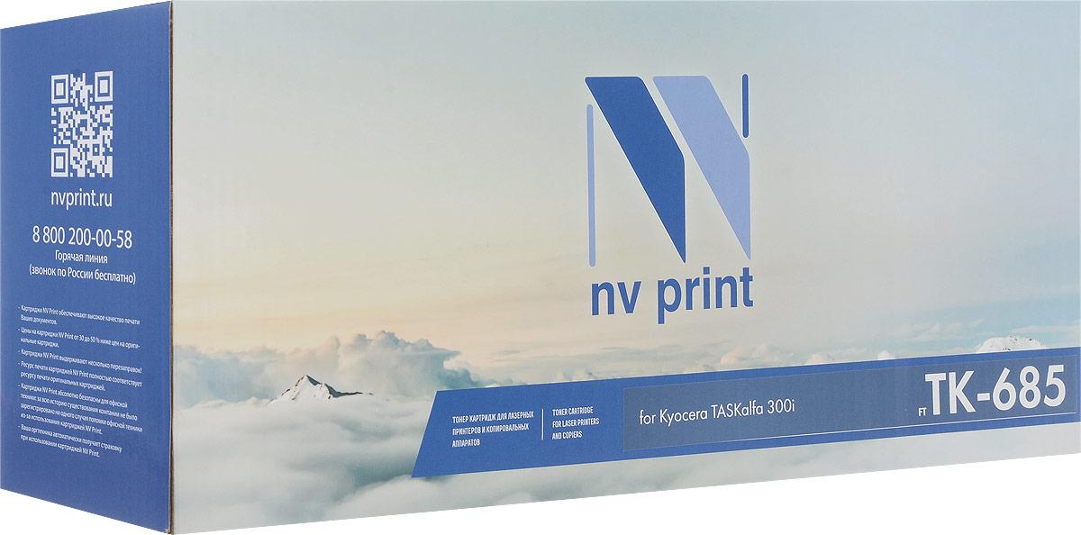 NV Print NV-TK685, Black тонер-картридж для Kyocera TASKalfa 300iNV-TK685Совместимый лазерный картридж NV Print NV-TK685 для печатающих устройств Kyocera - это альтернатива приобретению оригинальных расходных материалов. При этом качество печати остается высоким. Картридж обеспечивает повышенную чёткость чёрного текста и плавность переходов оттенков серого цвета и полутонов, позволяет отображать мельчайшие детали изображения.Лазерные принтеры, копировальные аппараты и МФУ являются более выгодными в печати, чем струйные устройства, так как лазерных картриджей хватает на значительно большее количество отпечатков, чем обычных. Для печати в данном случае используются не чернила, а тонер.