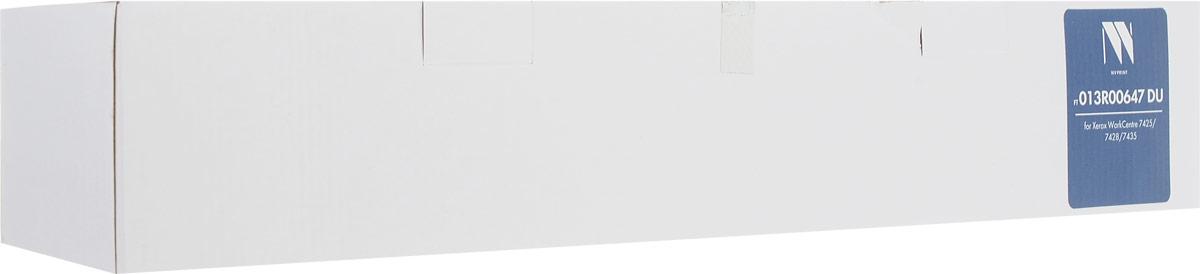 NV Print NV-013R00647DU фотобарабан для Xerox WorkCentre 7425/7428/7435NV-013R00647DUФотобарабан NV Print NV-013R00647DU производится по оригинальной технологии из совершенно новых комплектующих. Все картриджи проходят тестовую проверку на предмет совместимости и имеют сертификаты качества.Лазерные принтеры, копировальные аппараты и МФУ являются более выгодными в печати, чем струйные устройства, так как лазерных картриджей хватает на значительно большее количество отпечатков, чем обычных.