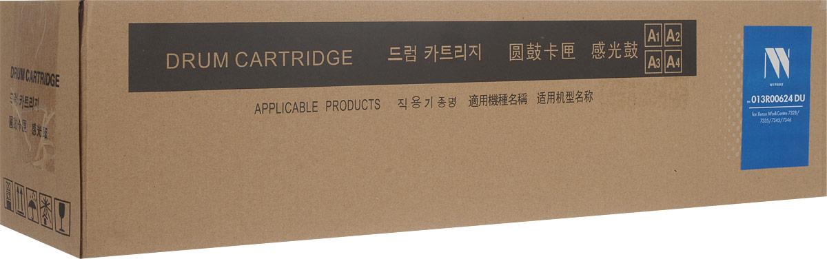 NV Print NV-013R00624DU фотобарабан для Xerox WorkCentre 7328/7335/7345/7346NV-013R00624DUФотобарабан NV Print NV-013R00624DU производится по оригинальной технологии из совершенно новых комплектующих. Все картриджи проходят тестовую проверку на предмет совместимости и имеют сертификаты качества.Лазерные принтеры, копировальные аппараты и МФУ являются более выгодными в печати, чем струйные устройства, так как лазерных картриджей хватает на значительно большее количество отпечатков, чем обычных.